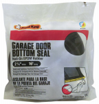Thermwell G16 Garage Door Bottom Weatherseal for Wooden Doors, Black, 16-Ft.