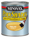 Minwax The 61410 1-Qt. Gloss Honey Pine Polyshades Wood Stain
