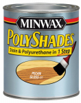 Minwax The 214204444 1/2-Pt. Gloss Pecan Polyshades Wood Stain