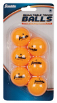 Franklin Sports Industry 57105 Table Tennis Balls, 1-Star, Orange, 6-Pk.