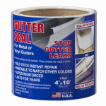 Cofair Products GL 410 Gutter Liner Roll, 4-In. x 10-Ft.