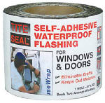 Cofair Products TS 433 Flashing, Window & Door, Self-Adhesive, Waterproof, 4-In. x 33-Ft.