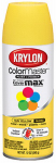 Krylon Diversified Brands K05180602 Colormaster Spray Paint,  Indoor and Outdoor, Gloss Sun Yellow, 12-oz.