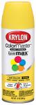 Krylon 51806 12 OZ Yellow Gloss Enamel Spray Paint