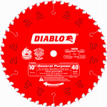 Freud D1040X 10-Inch 40-TPI Carbide-Tipped Finishing Saw Blade