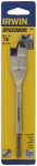 Irwin Industrial Tool 88814 Speedbor Spade Drill Bit, 0.875-In.