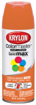 Krylon Diversified Brands K05241102 Colormaster Spray Paint, Indoor/Outdoor Use, Gloss Pumpkin Orange, 12-oz.