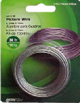 Hillman Fasteners 121110 30-Lb. Picture Wire, 25-Ft.