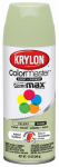 Krylon Diversified Brands K05354302 Colormaster Spray Paint, Indoor/Outdoor Use, Gloss Celery, 12-oz.