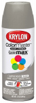Krylon Diversified Brands K05355202 Colormaster Spray Paint, Indoor/Outdoor Use, Gloss Castle Rock Gray, 12-oz.