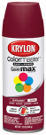 Krylon Diversified Brands K05350302 Colormaster Spray Paint, Indoor/Outdoor Use, Satin Burgundy, 12-oz.