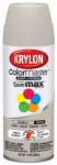 Krylon Diversified Brands K05352002 Colormaster Spray Paint, Indoor/Outdoor Use, Satin Pebble, 12-oz.
