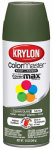 Krylon Diversified Brands K05352202 Colormaster Spray Paint, Indoor/Outdoor Use, Satin Italian Olive, 12-oz.
