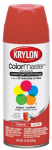 Krylon Diversified Brands K05353202 Indoor and Outdoor Spray Paint, Gloss Tomato, 12-oz.