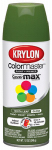 Krylon Diversified Brands K05354102 Colormaster Spray Paint, Indoor/Outdoor Use, Gloss Hosta Leaf Green, 12-oz.