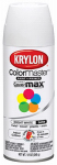 Krylon Diversified Brands K05351702 Colormaster Spray Paint, Indoor/Outdoor Use, Satin Ultra White, 12-oz.