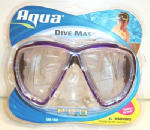 Aqua Leisure Ind AQM10392 Temp Glass Dive Mask