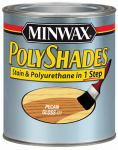 Minwax The 61420 1-Qt. Gloss Pecan Polyshades Wood Stain
