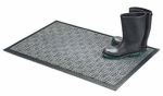 Bacova Guild 05520 Floor Saver II Doormat, Gray Olefin Fiber, 18 x 30-In.