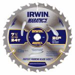 Irwin Industrial Tool 24030 7-1/4 Inch C3 Carbide-Tipped Marathon Circular Saw Blade