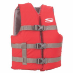 Stearns 3000004472 Life Jacket, Red, Youth 50-90-Lbs.