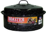 Columbian Home Products 0517-6 Graniteware Ceramic-On-Steel 3-Lb. Covered Round Roaster