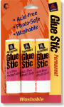 Avery Products 00164 Glue Stic, Permanent, .26-oz., 3-Pk.