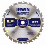 Irwin Industrial Tool 14050ZR 8-1/4 Inch Carbide-Tipped Marathon Circular Saw Blade