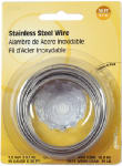 Hillman Fasteners 123114 19-Gauge Stainless Steel Wire, 30-Ft.
