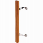 Prime Line Products 141642 Sliding Glass Patio Door Handle, Wood