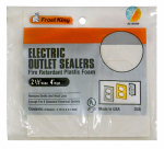 Thermwell OS6H White Foam Outlet Sealers, 6-Pk.
