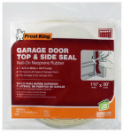 Thermwell SG30WH Garage Door Top & Side Weatherseal, White Vinyl, 30-Ft.