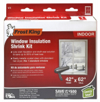 Thermwell V73H Window Insulation Kit, 42 x 62-In.