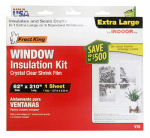 Thermwell V75H Window Insulation Kit or Kitchen for Extra-Large Window, 62 x 210-In.