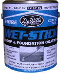 Dewitt Products 102-1 GAL Fib Roof Coating