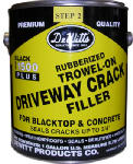Dewitt Products 505-1 Plus Trowel Asphalt & Concrete Crack Filler, Heavy Duty, 116-oz.