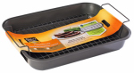 World Kitchen 1164270 Baker's Secret Large Non-Stick Broiler Pan, 15.5 x 11.5-In.