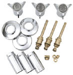Brass Craft Service Parts SK0305 Tub & Shower Faucet Rebuild Kit or Kitchen For Sayco Space Age, Chrome