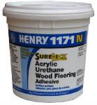 Henry Ww 12235 1171 Acrylic Urethane Wood Flooring Adhesive, 1-Gal.