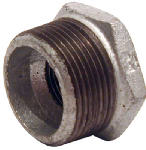 Pannext Fittings G-BUS1505 1-1/2x1/2GalvHexBushing