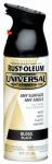 Rust-Oleum 245196 12-oz. Gloss Black Spray Paint