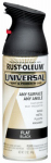 Rust-Oleum 245198 12 OZ Flat Black Spray Paint