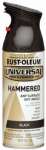 Rust-Oleum 245217 12-oz. Hammered Black Spray Paint