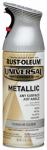 Rust-Oleum 245220 12-oz. Titanium Silver Spray Paint