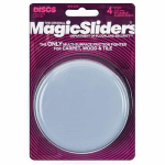 Magic Sliders L P 04100 Surface Protectors, Furniture Sliding Discs, Adhesive, 4-In. Round, 4-Pk.