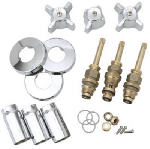 Brass Craft Service Parts SK0336 Tub & Shower Faucet Rebuild Kit or Kitchen For Sterling Rockwell, Chrome