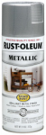 Rust-Oleum 7271-830 Stops Rust Metallic Spray Paint, Silver, 11-oz.
