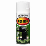 Rust-Oleum 7751-830 High-Heat Spray Paint, Flat White, 12-oz.