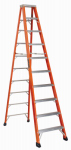 Louisville Ladder FS1310HD 10-Ft. Heavy Duty Step Ladder, Fiberglass, Type IAA, 375-Lb. Duty Rating