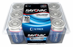 "Spectrum/Rayovac 814-12PPK 12-Pack ""C"" Maximum Alkaline Pro Pack Batteries"